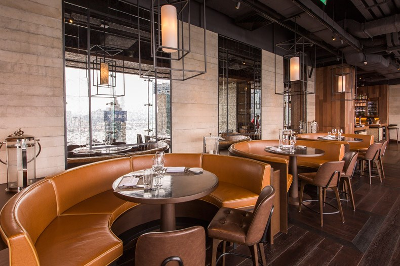 陈德坚:香港penthouse餐厅设计