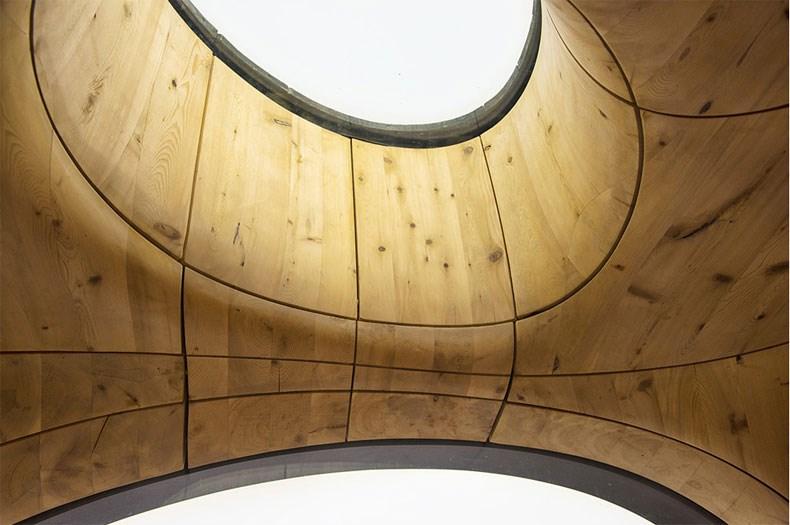 加拿大Bernyk 群岛石窟桑拿房设计8