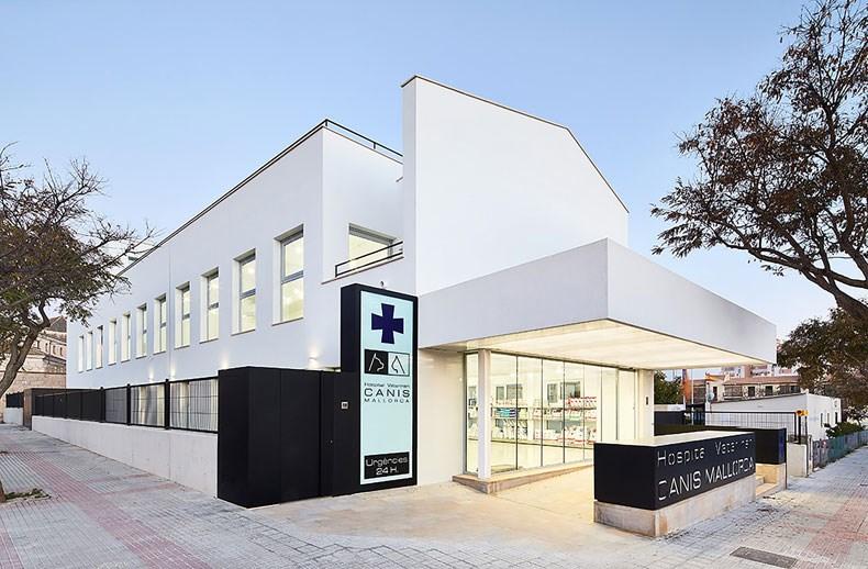 西班牙马略卡兽医院设计1