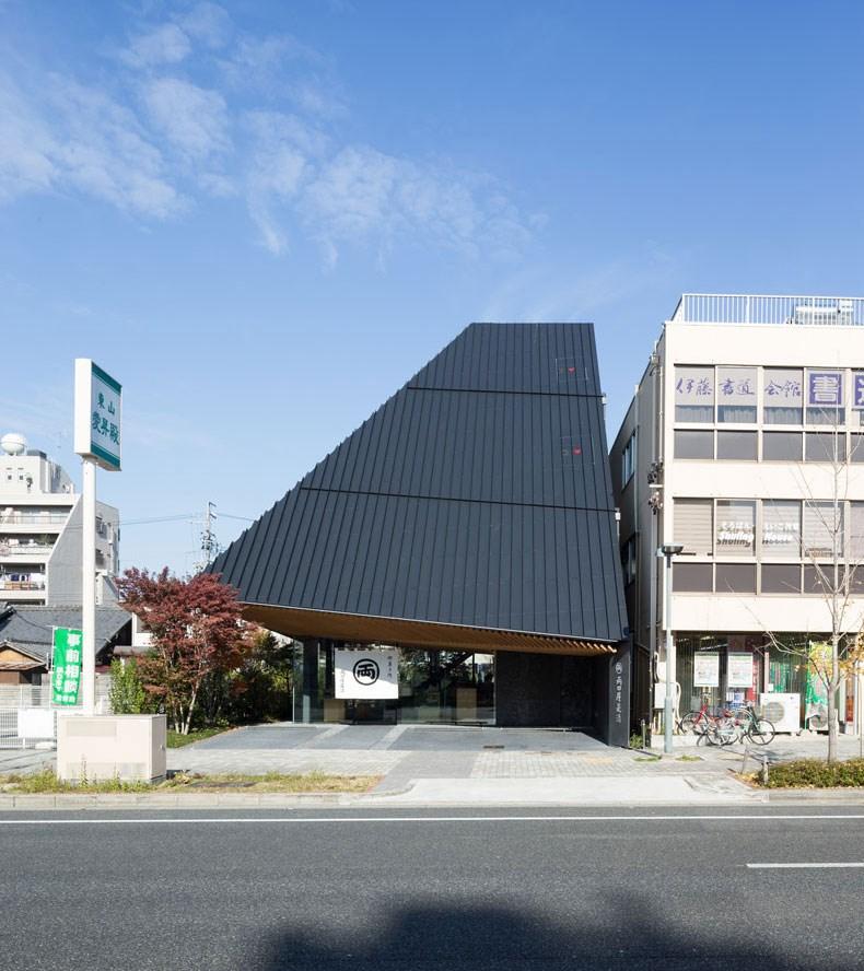 隈研吾:日本甜品店设计1