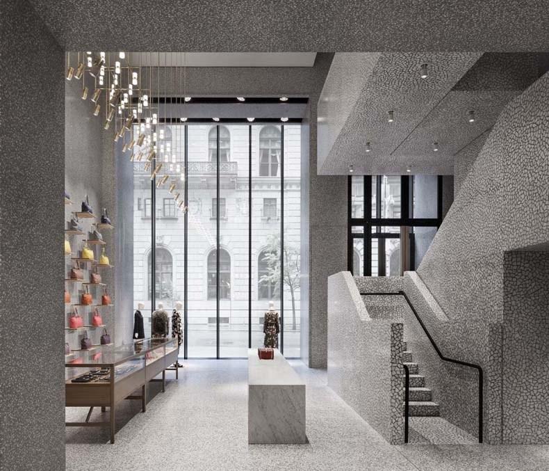 大卫·奇普菲尔德:华伦天奴纽约旗舰店设计6