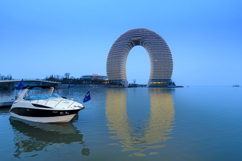 太湖皓月——湖州喜来登温泉度假酒店设计1