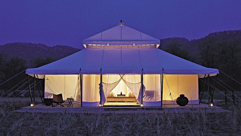 安缦伊卡帐篷度假村设计1