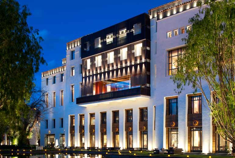 拉萨瑞吉度假酒店设计2