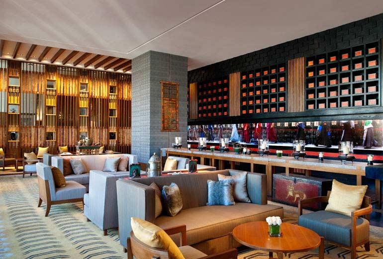 拉萨瑞吉度假酒店设计5