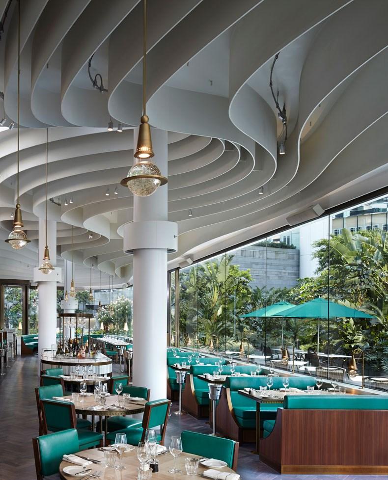 香港The Continental咖啡厅改造设计2