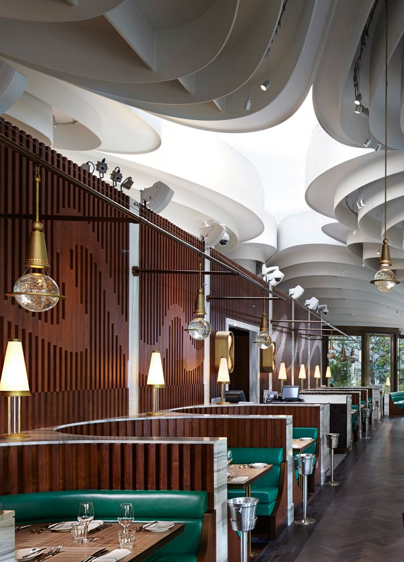 香港The Continental咖啡厅改造设计6