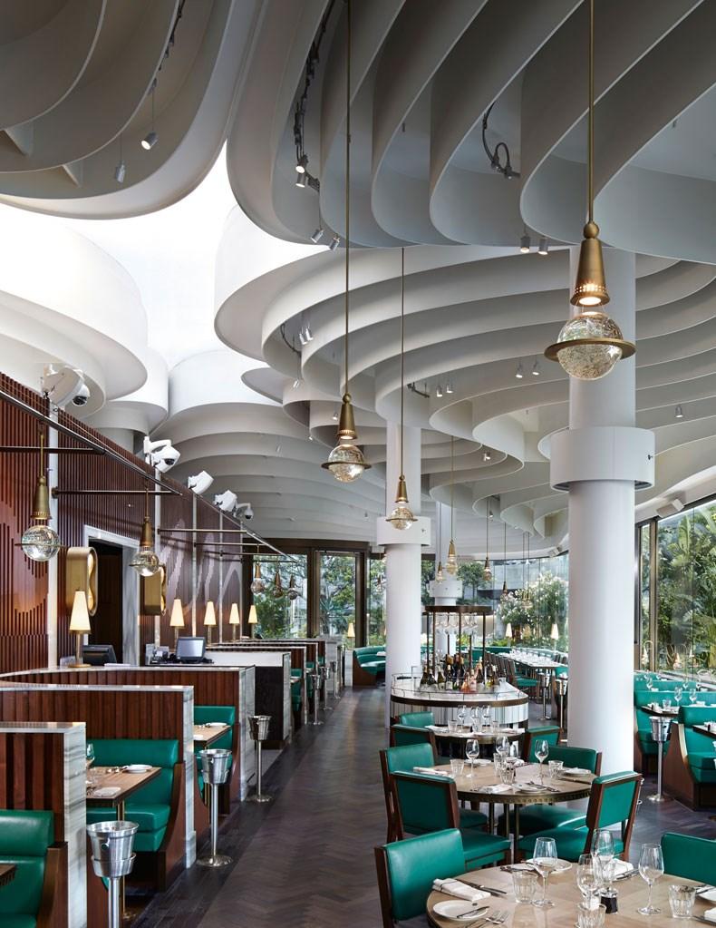 香港The Continental咖啡厅改造设计7