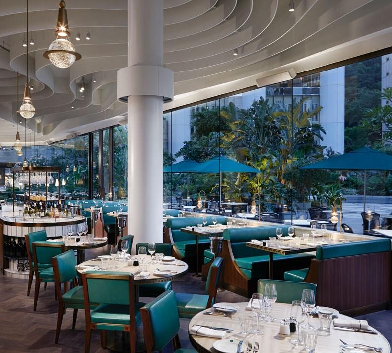 香港The Continental咖啡厅改造设计8