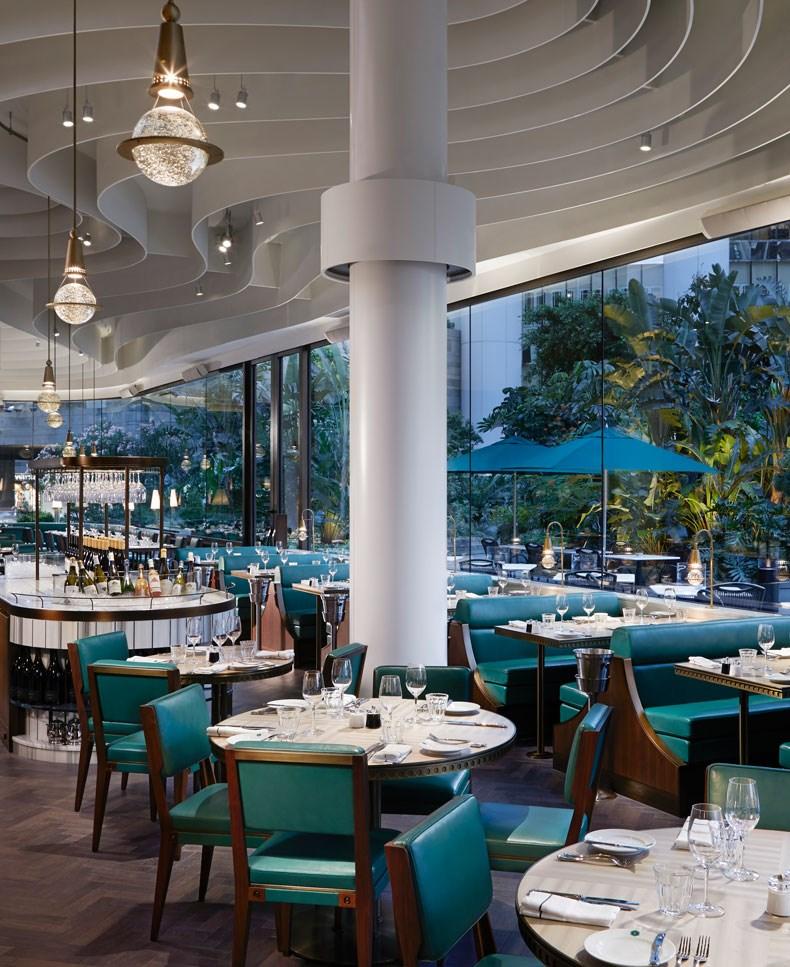 香港The Continental咖啡厅改造设计9