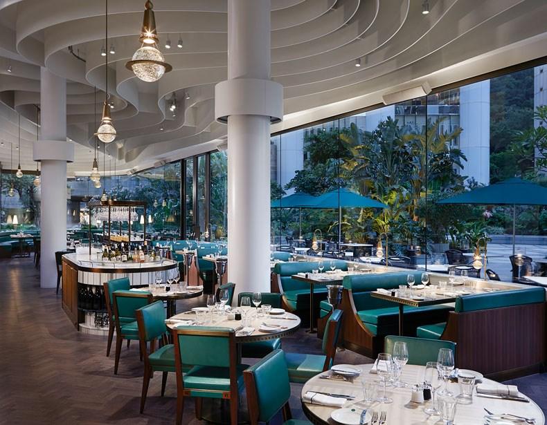 香港The Continental咖啡厅改造设计10