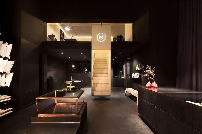 空间的律动感:Bazar Noir概念店1