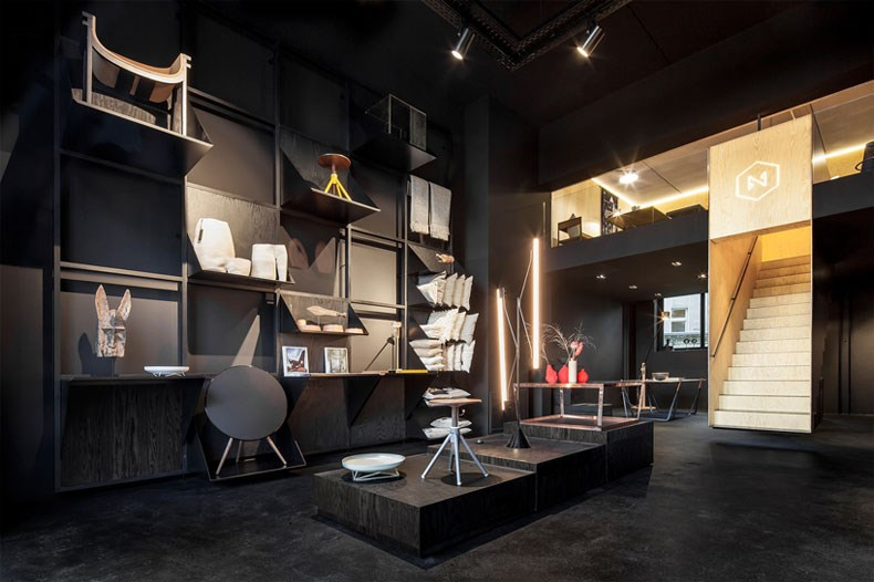 空间的律动感:Bazar Noir概念店2
