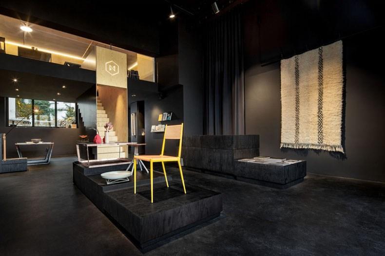 空间的律动感:Bazar Noir概念店3