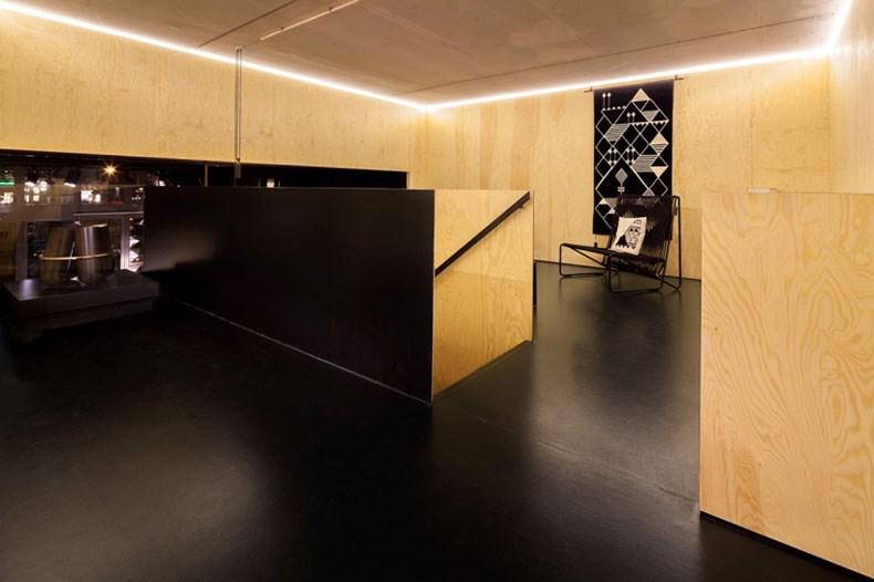 空间的律动感:Bazar Noir概念店8