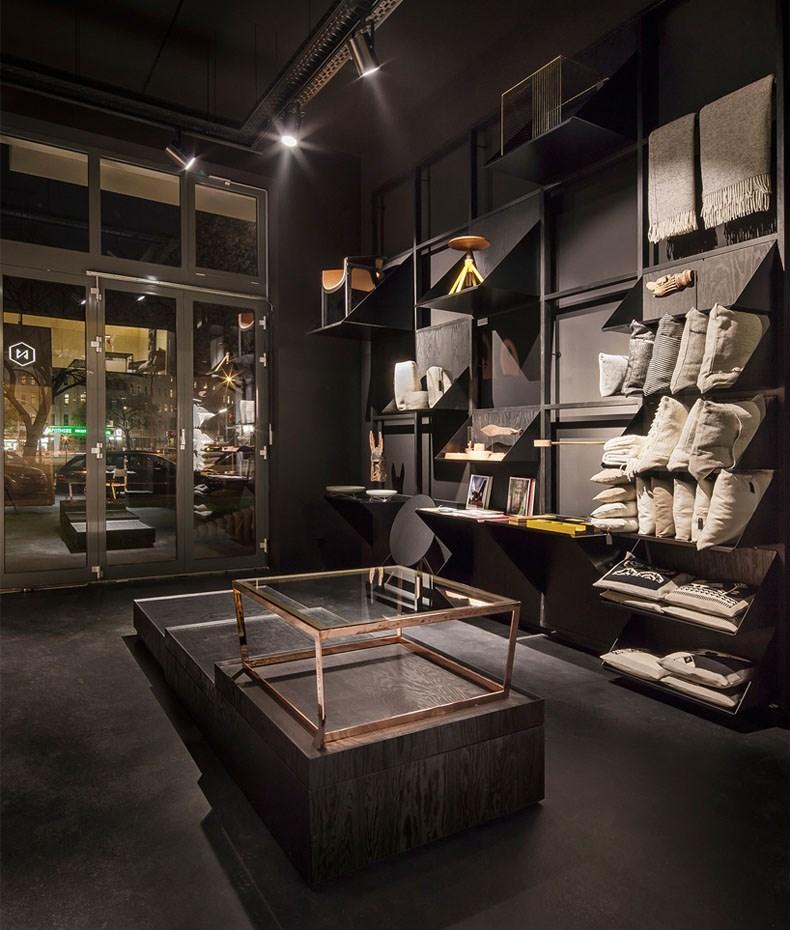 空间的律动感:Bazar Noir概念店4