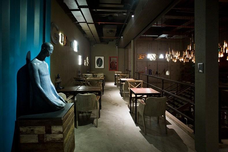 田军:上海Tata Coffee店设计3