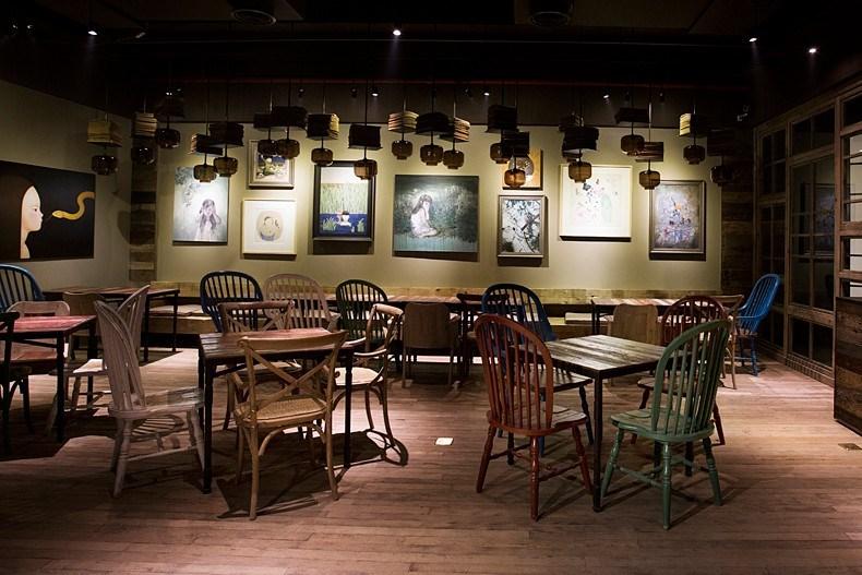田军:上海Tata Coffee店设计5