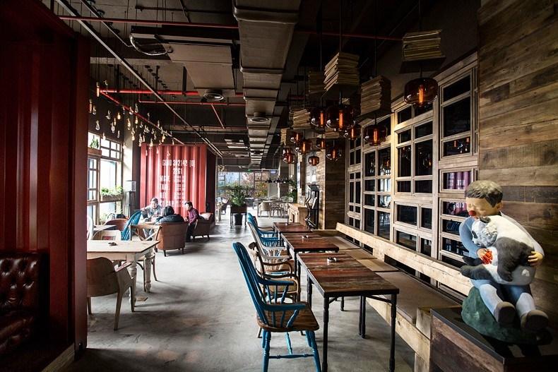 田军:上海Tata Coffee店设计8