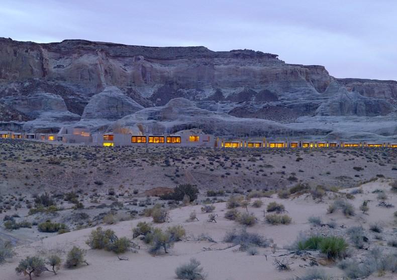 犹他州峡谷沙漠Amangiri度假村设计2