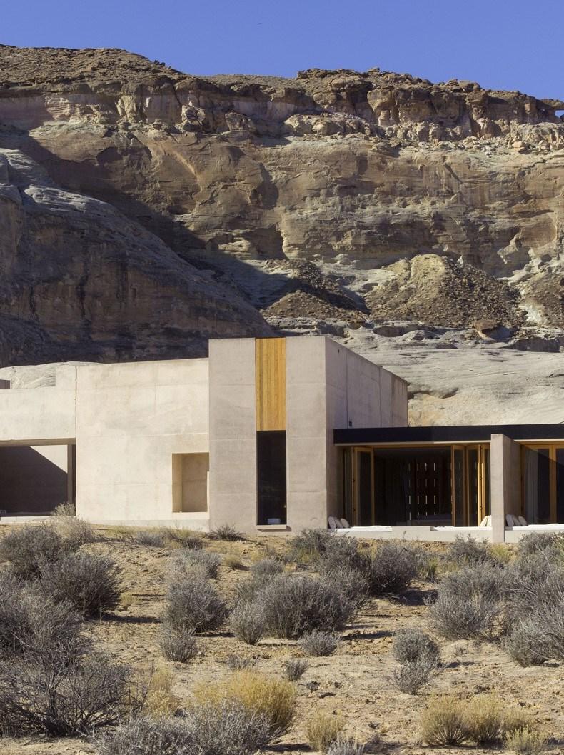 犹他州峡谷沙漠Amangiri度假村设计3