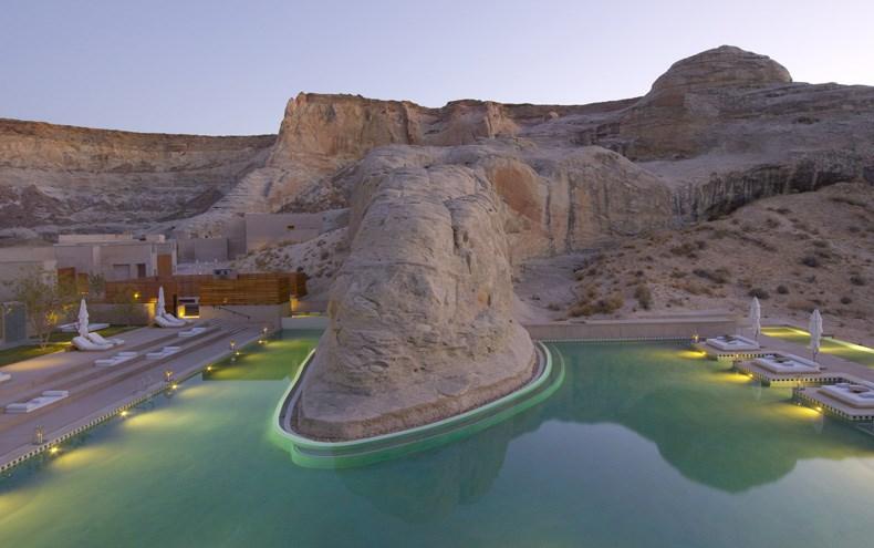 犹他州峡谷沙漠Amangiri度假村设计4
