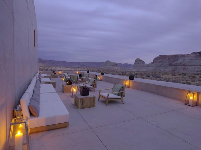 犹他州峡谷沙漠Amangiri度假村设计5