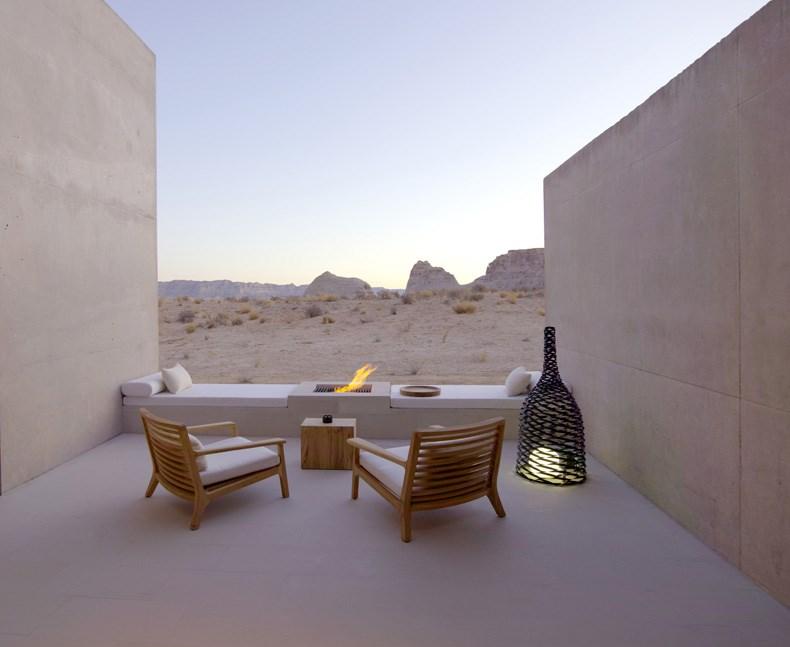 犹他州峡谷沙漠Amangiri度假村设计8
