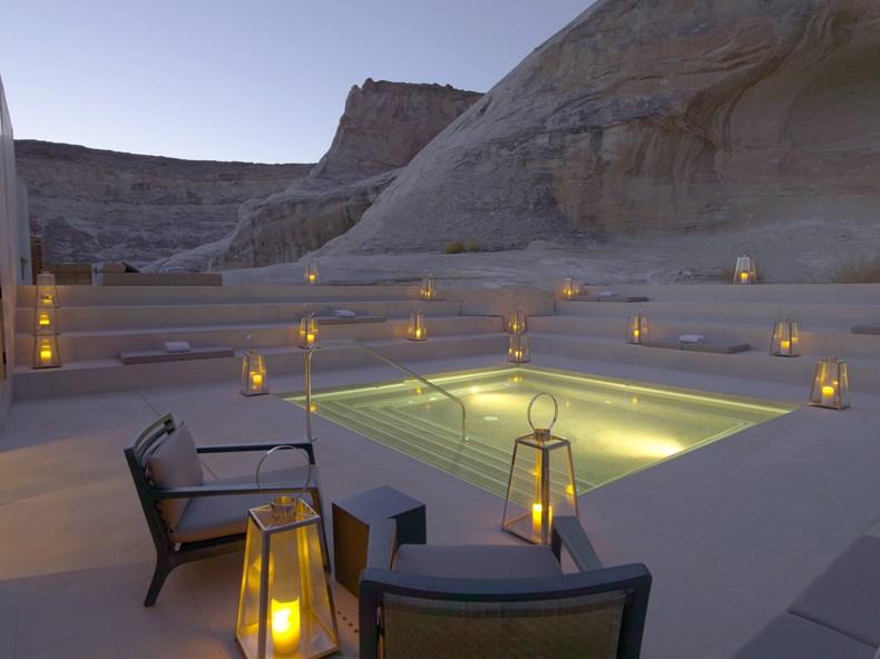 犹他州峡谷沙漠Amangiri度假村设计6