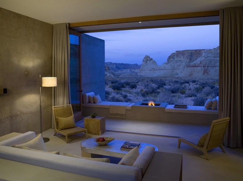 犹他州峡谷沙漠Amangiri度假村设计11