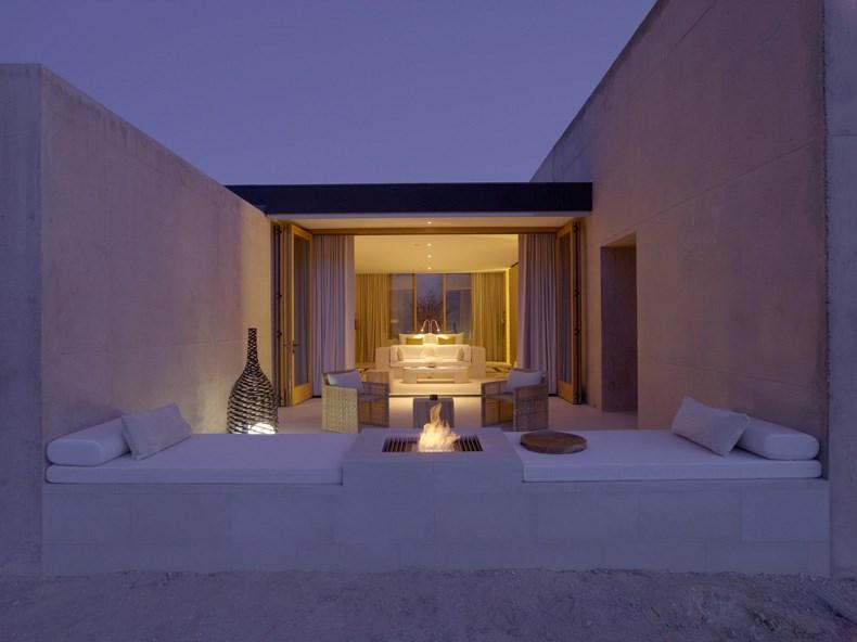 犹他州峡谷沙漠Amangiri度假村设计9