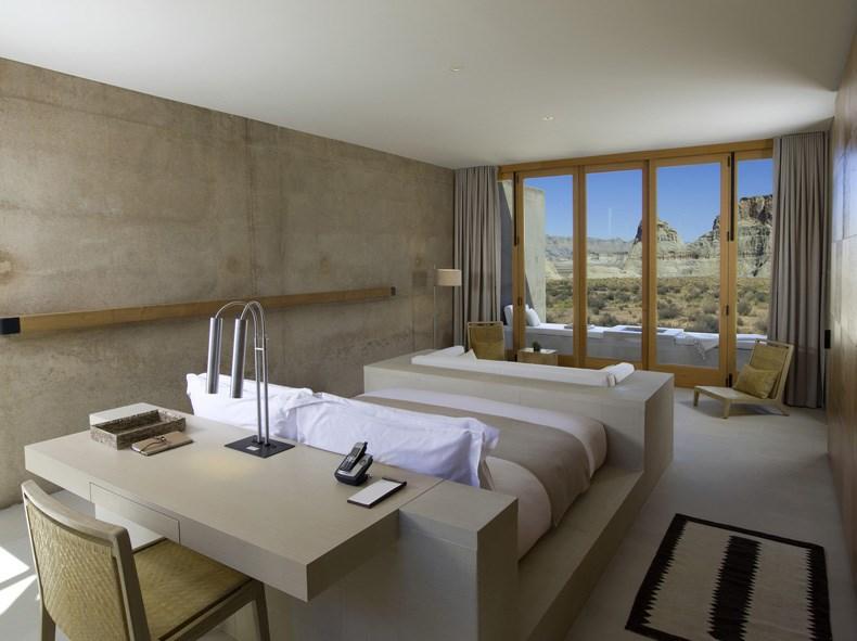 犹他州峡谷沙漠Amangiri度假村设计15