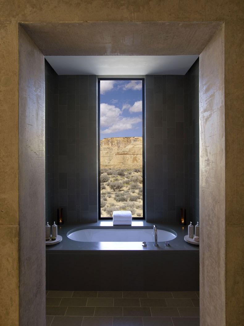 犹他州峡谷沙漠Amangiri度假村设计19