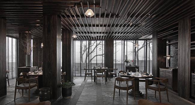 葫芦岛食屋私人餐厅设计20