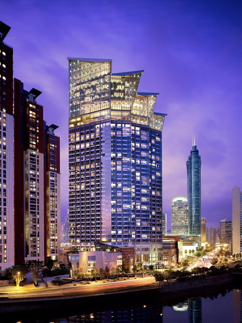 wilson:深圳君悦酒店设计