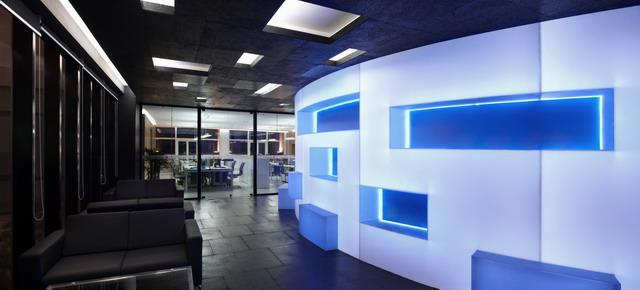 安徽金大地集团总部办公室内设计4