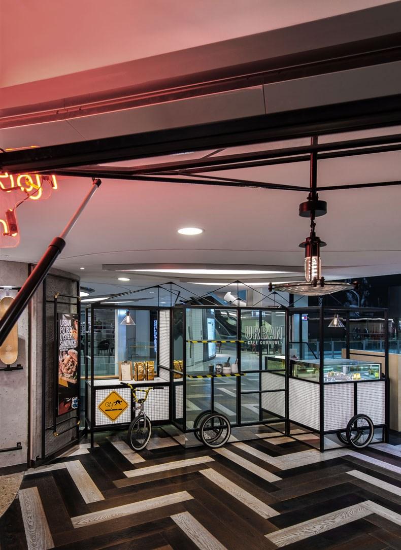 何宗宪:Urban Commune餐厅设计2