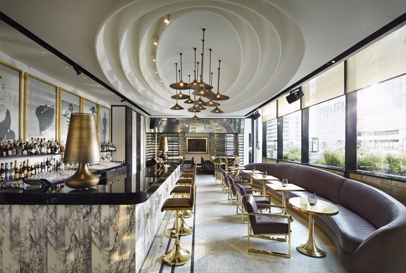 David Collins:曼谷Vogue餐厅设计1