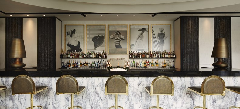 David Collins Studio:曼谷Vogue餐厅设计5