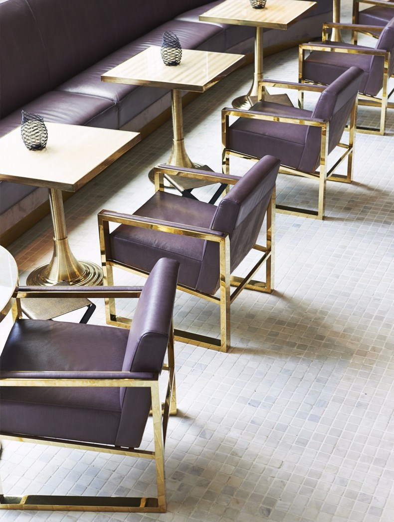 David Collins:曼谷Vogue餐厅设计9