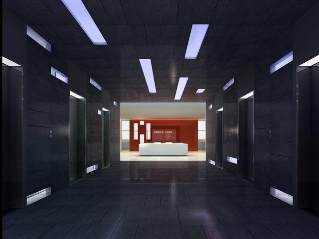安徽金大地集团总部办公室内设计1