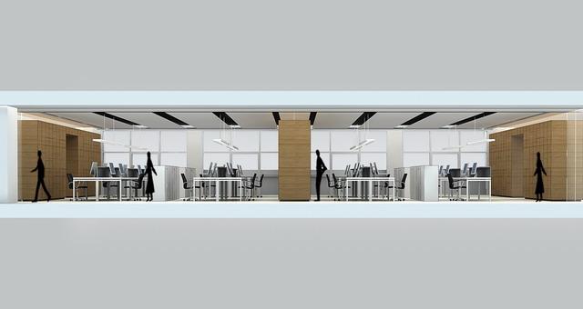 安徽金大地集团总部办公室内设计9
