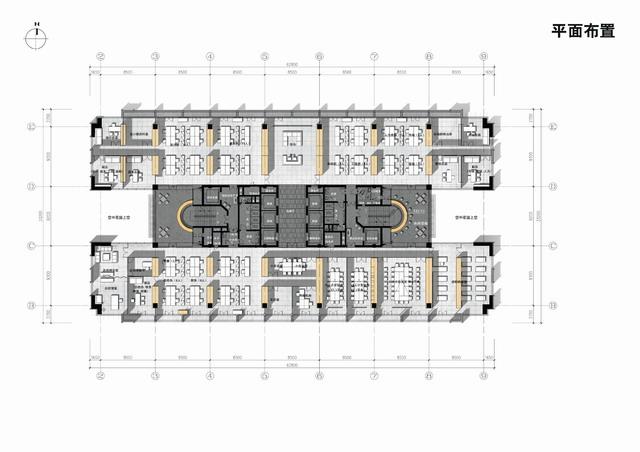 安徽金大地集团总部办公室内设计10