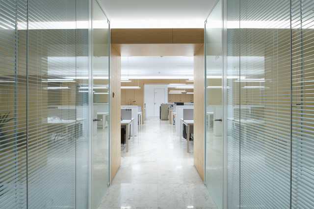 安徽金大地集团总部办公室内设计5