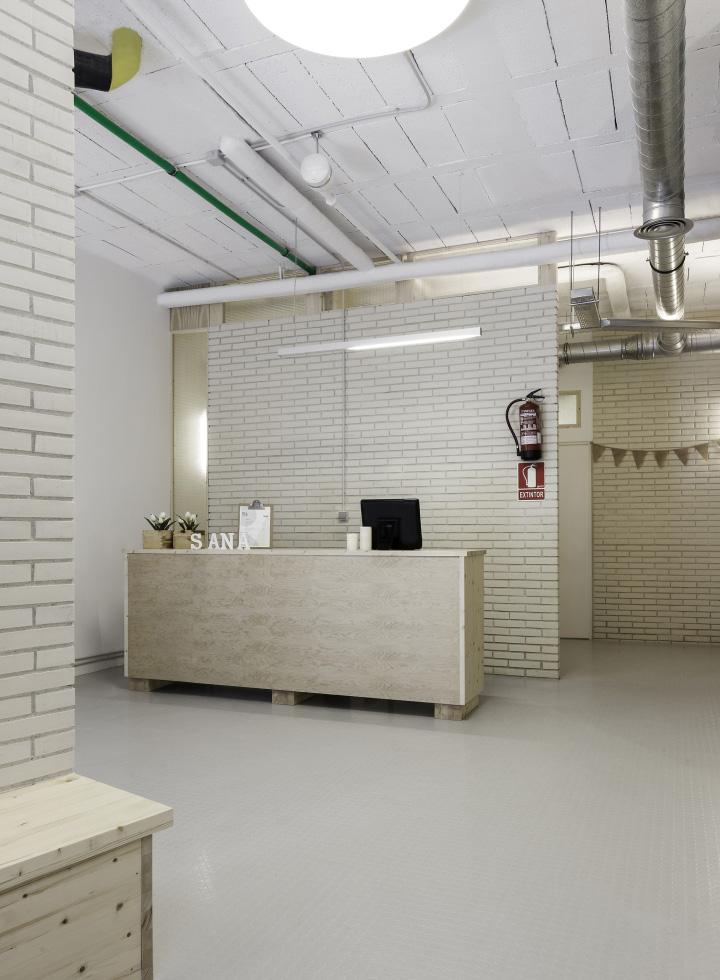 西班牙SanaSana理疗美容中心设计3