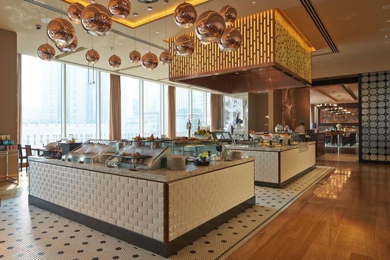 成都瑞吉酒店秀餐厅和品酒阁设计2