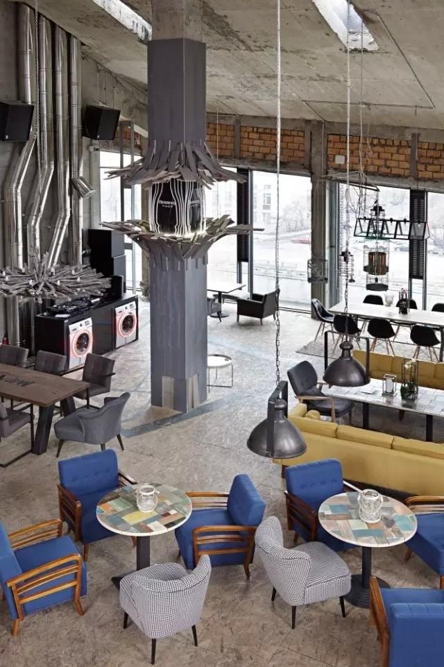 Door19莫斯科餐厅设计