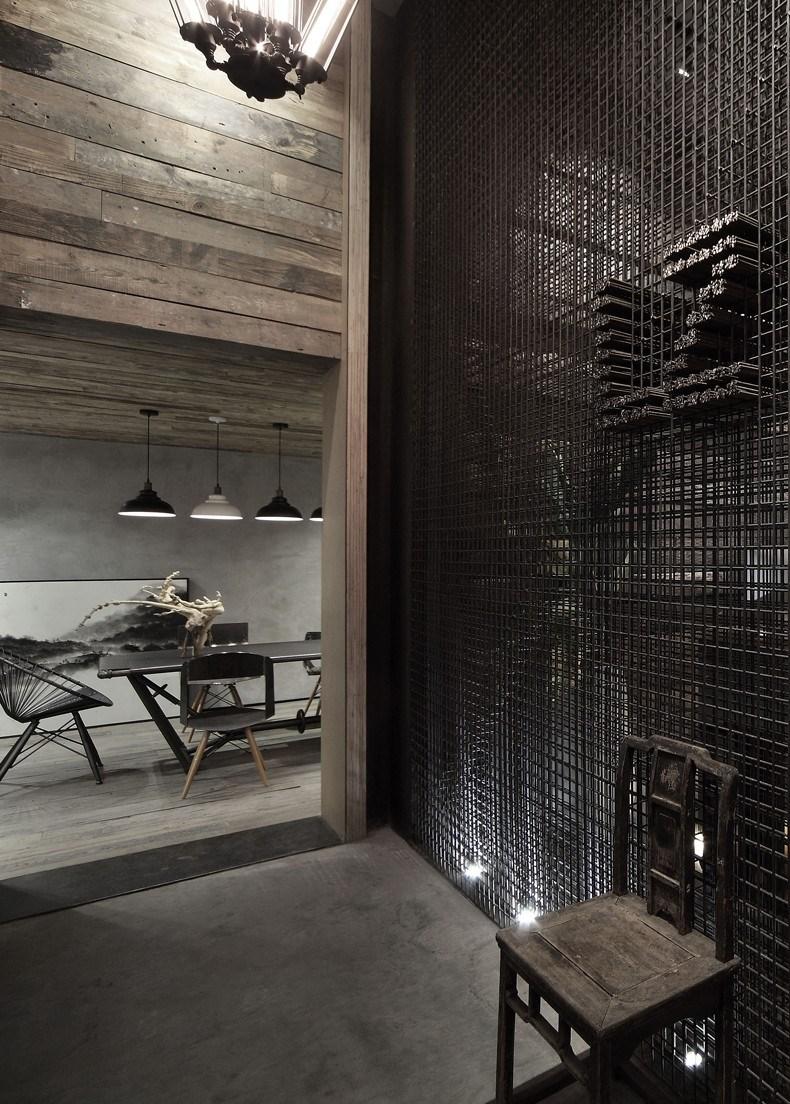 梁筑设计事务所办公室设计 走廊