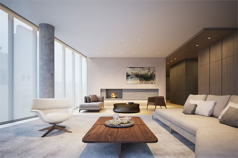 曼哈顿伊丽莎白152号 客厅设计