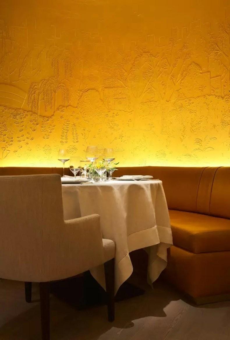 纽约半岛酒店CLEMENT餐厅 餐厅细节